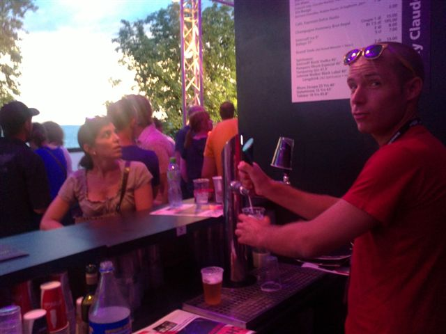 MJF 2012 : l'aventure d'être barman