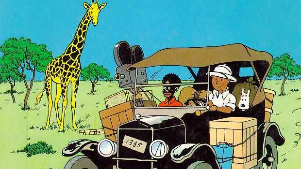 Ce connard de Tintin au Congo