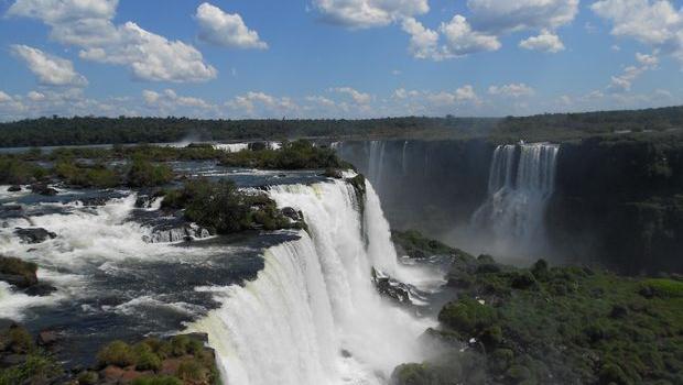 Les chutes d'eau d'Iguazu